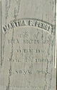 Martha Fletcher <I>Perry</I> Holton