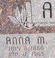 Anna M Acker