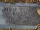 Profile photo:  Adele <I>Clark</I> Baker