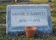Nannie S Garrett
