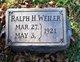 Ralph H Weiler