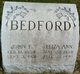 Eliza Ann <I>Summers</I> Bedford