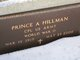 Profile photo:  Prince A Hillman