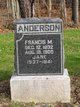 Jane <I>Peterson</I> Anderson