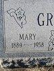Mary Anna <I>Paszek</I> Grajczyk