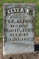 Profile photo:  Eliza E. Alford