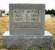 Alice B. <I>Bratton</I> McFall