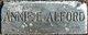 Annie E <I>Scrivner</I> Alford