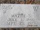 Mattie S. <I>McConnell</I> Wood