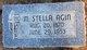 """Margaret Stella """"Stella"""" Agin"""