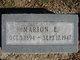 Marion E. <I>Edmiston</I> Brewer