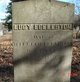 Lucy <I>Geer</I> Eccleston