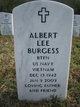 Albert Lee Burgess