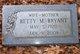 "Profile photo:  Elizabeth Mae ""Betty"" <I>Meyer</I> Bryant"