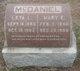 Mary E. <I>Busey</I> McDaniel