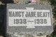 Nancy Jane Beaty
