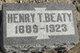 Henry T Beaty