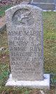 Profile photo:  Annie Marie Hatchett
