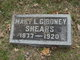 Profile photo:  Mary L. <I>Giboney</I> Shears