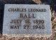 Profile photo:  Charles Leonard Ball