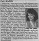 "Patricia Ann ""Patty"" <I>Young</I> Padilla"