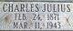 """Charles Julius """""""