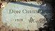 Profile photo:  Don Christiansen
