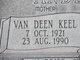Van Deen <I>Keel</I> Andersen