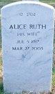 Profile photo:  Alice Ruth Ridgely