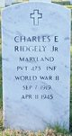 Profile photo: Pvt Charles E Ridgely, Jr
