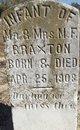 Profile photo:  Infant Braxton
