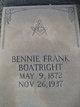 Bennie Frank Boatright