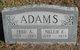 Profile photo:  Nellie E Adams