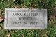 Profile photo:  Anna <I>Cantzler</I> Kettler