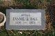 Profile photo:  Fannie I <I>Pumpfrey</I> Ball