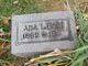 Profile photo:  Ada Florence <I>Lee</I> Bain