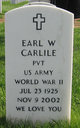 Earl W Carlile