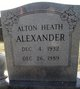 Profile photo:  Alton Heath Alexander