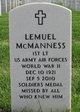 """Profile photo:  Lemuel """"Lem"""" McManness"""
