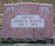 Profile photo:  Alice L. Eagon
