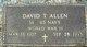 "Profile photo:  David Thomas ""Pete"" Allen"