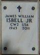 Profile photo:  James William Isbell Jr.