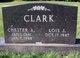 Profile photo:  Chester Allen Clark