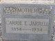 """Caroline Elizabeth """"Carrie"""" <I>Tiller</I> Jarrell"""