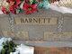 Myrtie <I>Gunter</I> Barnett