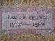 Paul Robert Brown, Sr