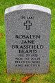 Profile photo:  Rosalyn Jane Brassfield-Beard