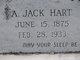 Profile photo:  A Jack Hart