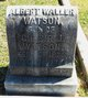 Profile photo:  Albert Waller Watson