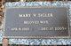 Mary Virginia <I>Bentley</I> Sigler